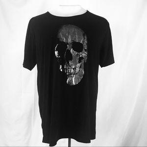 Other - Black skull T-shirt